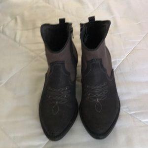 Brand New American Rag Western Booties 6.5